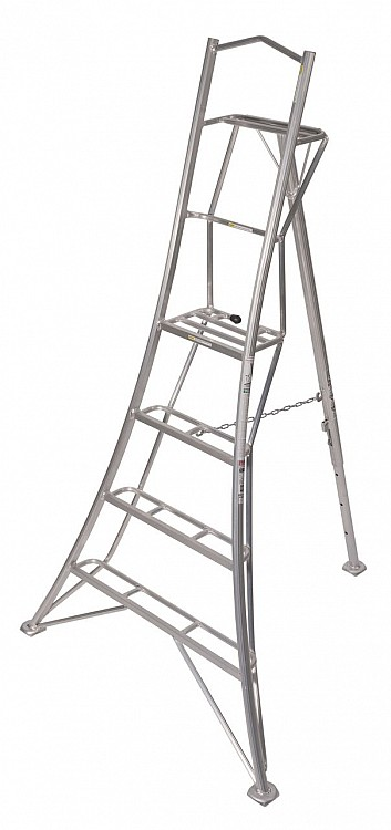 Premium Tripod Ladders Orchard Ladders At Bluestone Garden